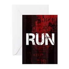 Run Greeting Cards (Pk of 10)