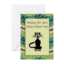 .::MoonDreams::. Father's Day Cat (Pk of 10)