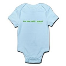 1 Samuel 1:27 Infant Bodysuit