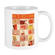 Five and Dime Small Mugs