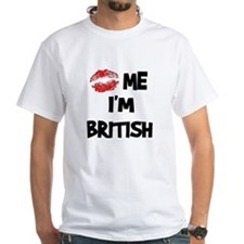 Kiss Me I'm British Shirt