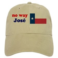 Texas Flag No Way Jose Baseball Cap