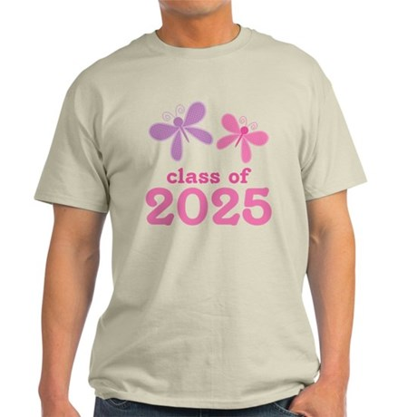 2025 Girls Graduation Light T-Shirt