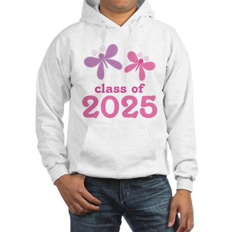 2025 Girls Graduation Hooded Sweatshirt