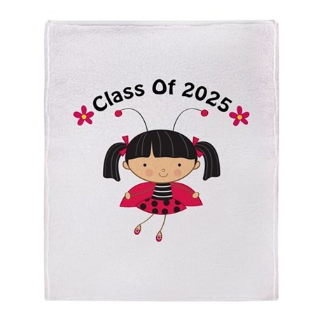 2025 Class of Gift Throw Blanket