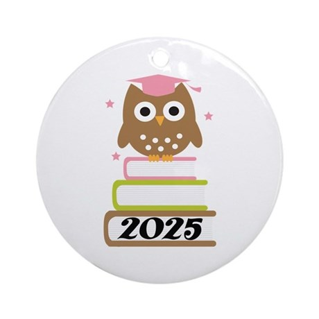 2025 Top Graduation Gifts Ornament (Round)