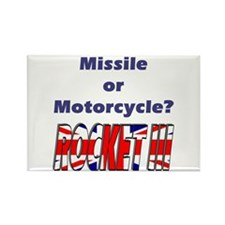 Missle or Motorcycle? Rectangle Magnet (10 pack)