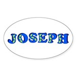 Joseph Sticker (Oval 10 pk)