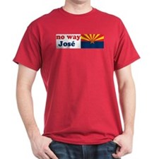 No Way Jose Arizona Black T-Shirt