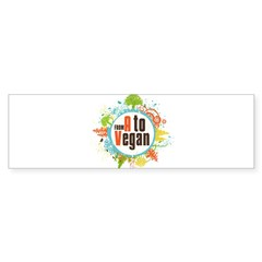 Vegan World Sticker (Bumper 10 pk)