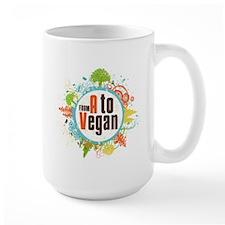 Vegan World Large Mug