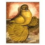 Yellow English Trumpeter Small Poster