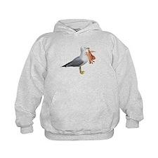 Seagull & Crab Hoodie