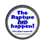 The Rapture Wall Clock