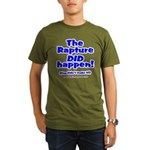 The Rapture Organic Men's T-Shirt (dark)