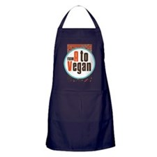 Vegan Dots Apron (dark)
