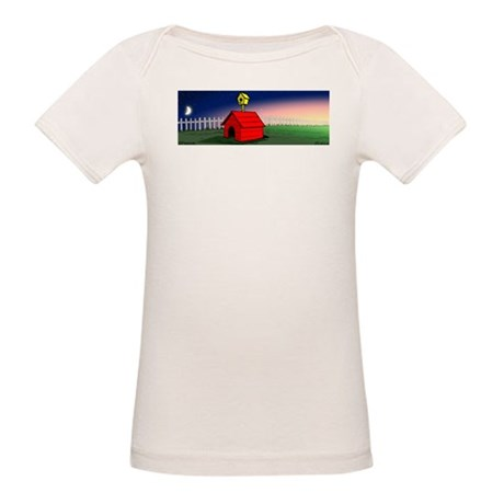 A Peaceful Night Organic Baby T-Shirt