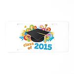 Class of 2015 Aluminum License Plate