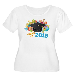 Class of 2015 Women's Plus Size Scoop Neck T-Shirt