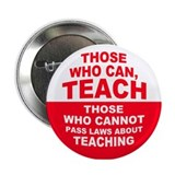 Those who can teach those who cannot pass laws abo Single
