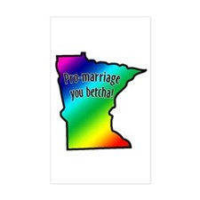 Minnesota Rainbow - Decal
