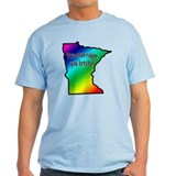 Minnesota Rainbow - T-Shirt