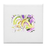 'Dream Glow' Products Tile Coaster
