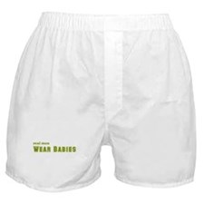Real Men Wear Babies Boxer Shorts