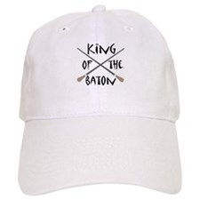 King of the Baton Baseball Cap