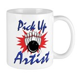Funny Bowling Pick Up Artist Small Mugs