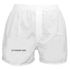 Attached Dad (camo) Boxer Shorts