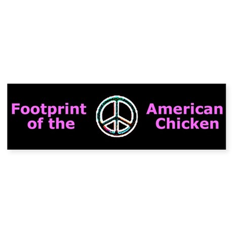 """Peace"" Bumper Sticker"