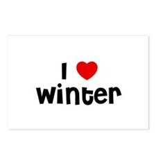 I * Winter Postcards (Package of 8)