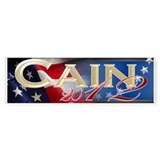 Herman Cain 2012 - Bumper Sticker