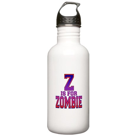 Z is for Zombie Stainless Water Bottle 1.0L