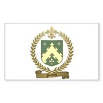 POTVIN Family Crest Sticker (Rectangle 50 pk)