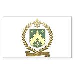 POTVIN Family Crest Sticker (Rectangle 10 pk)