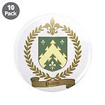 "POTVIN Family Crest 3.5"" Button (10 pack)"