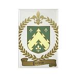 POTVIN Family Crest Rectangle Magnet (100 pack)