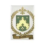 POTVIN Family Crest Rectangle Magnet (10 pack)