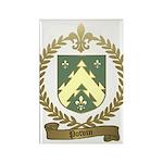 POTVIN Family Crest Rectangle Magnet