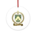 POTVIN Family Crest Ornament (Round)