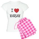 I heart warsaw Women's Light Pajamas