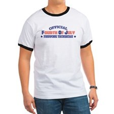 Official Fourth Of July Firework Technician T