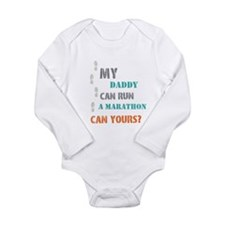 Can yours? Long Sleeve Infant Bodysuit