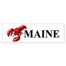 Maine Lobster Bumper Sticker