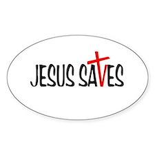 Jesus Saves Decal