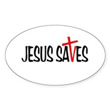 Jesus Saves Stickers