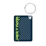 Green Obama Biden Keychains