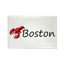 Boston Lobster Rectangle Magnet